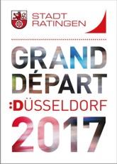 Logo mit Schriftzug Gran Depart Düsseldorf 2017