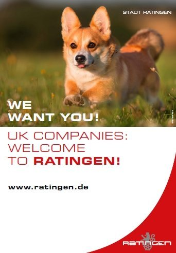 We want you! UK companies: welcome to Ratingen