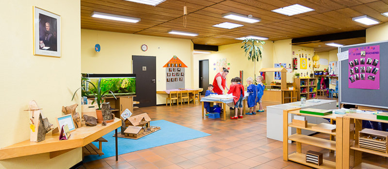 Stadt ratingen west familienzentrum daimlerstra e for Raumgestaltung in der kita